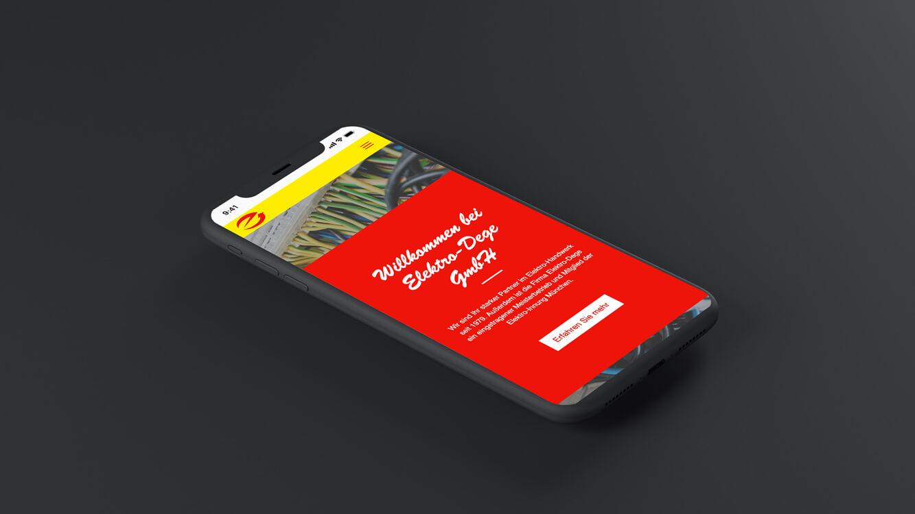 FeichtMedia Website Relaunch Elektro Dege